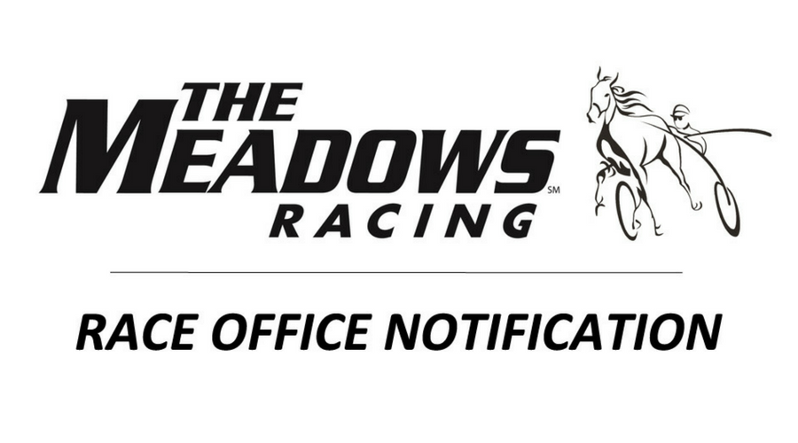 Race Office notice regarding Woodstock/Oak Grove wins