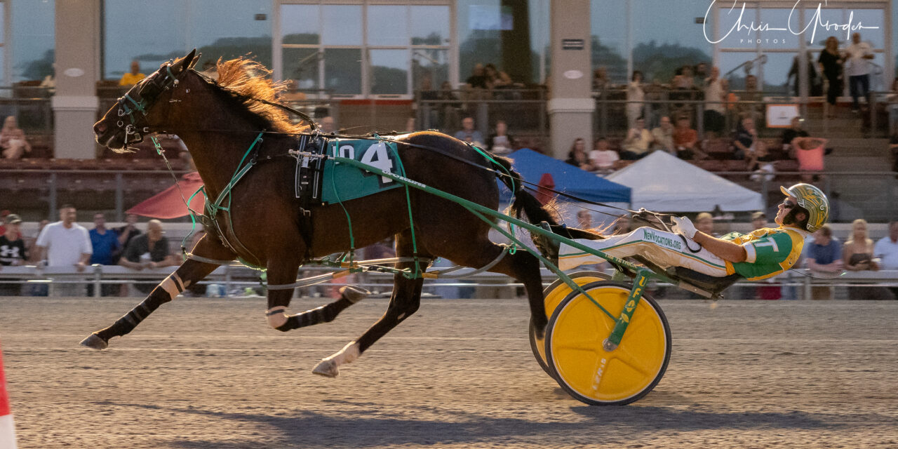 PASS FROSH FINALS ANCHOR FRIDAY'S $1.26 MILLION CARD AT THE MEADOWS